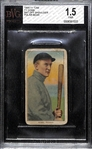 1909-11 T206 Ty Cobb (HOF) Bat Off Shoulder Tobacco Card Graded Beckett BVG 1.5 (Polar Bear Back)